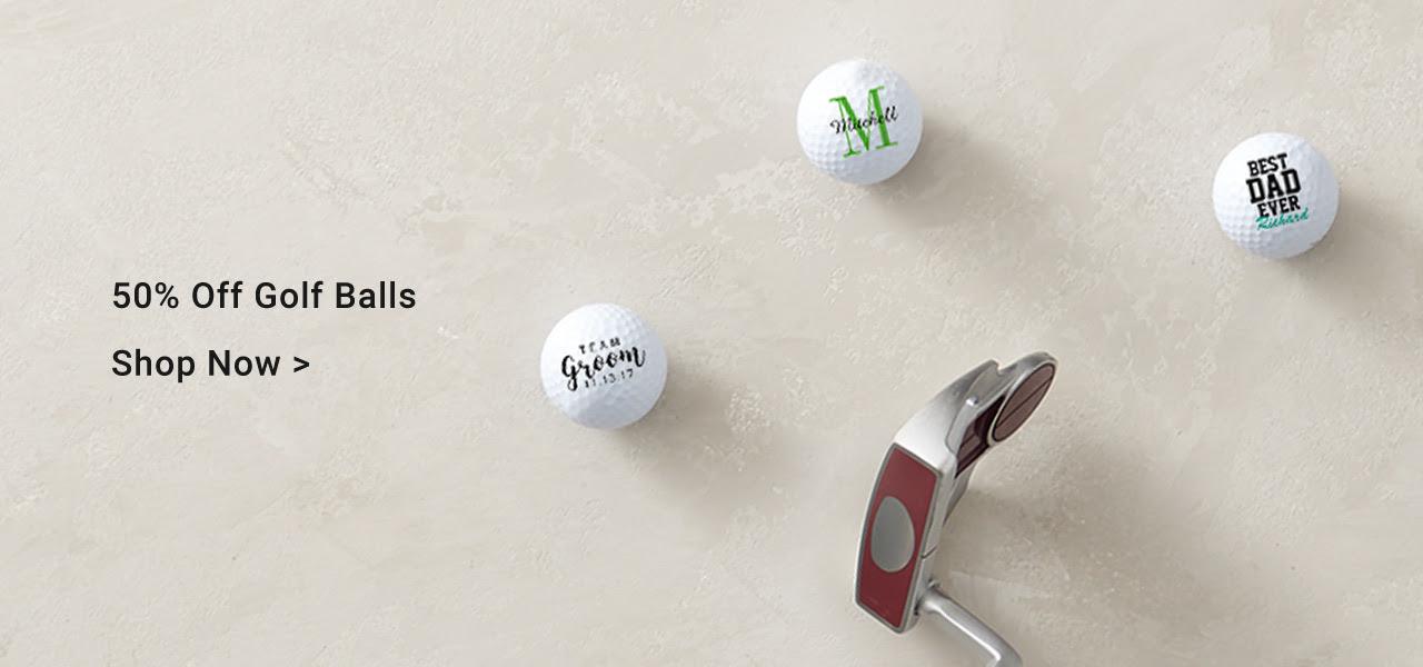 50% Off Golf Balls