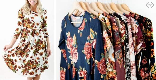 ?Floral Dresses Clearance...