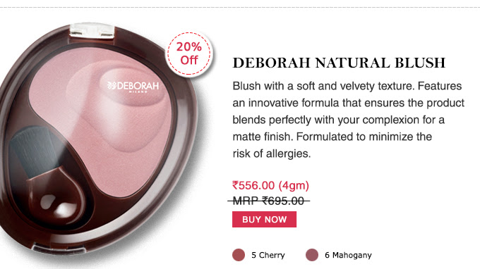 Deborah Natural Blush