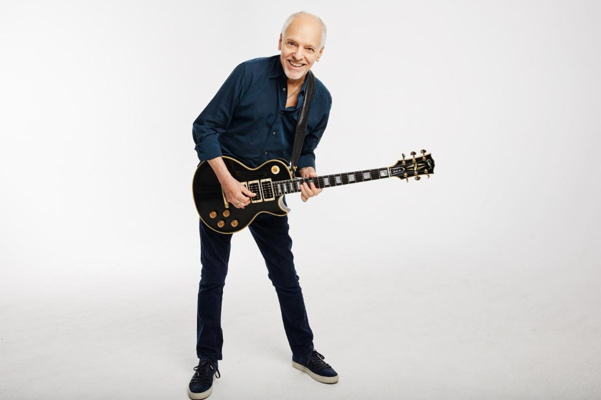 "Gibson:Announces Peter Frampton ""Phenix"" Les Paul Custom VOS,Available Worldwide on Gibson.com"