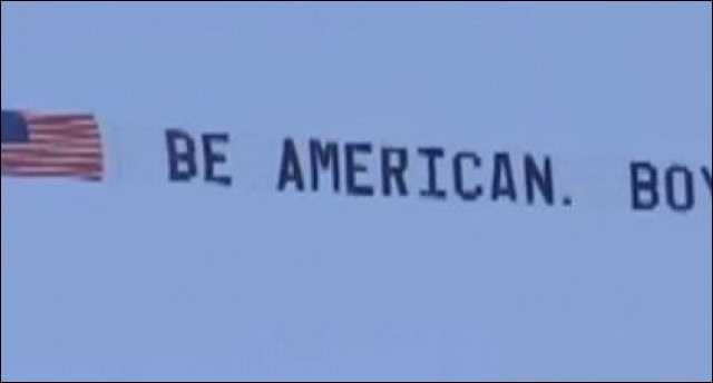 """BOOM! Patriotic Pilot Takes To The Sky With HUMONGOUS """"F YOU"""" To EVERY Snowflake In The WORLD"""