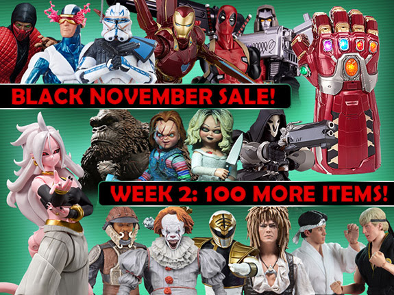 BLACK NOVEMBER SALE WEEK 2