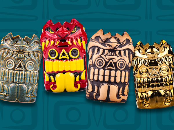 Mouth of the Serpent tiki mugs