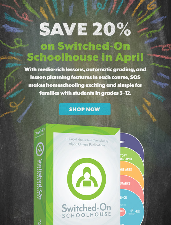 Save 20% on SOS during Spring Sale