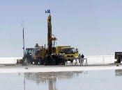 La producción de litio es un importante renglón económico en Bolivia.