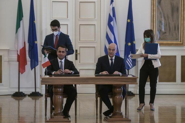 αοζ ελλάδα ιταλια συμφωνια