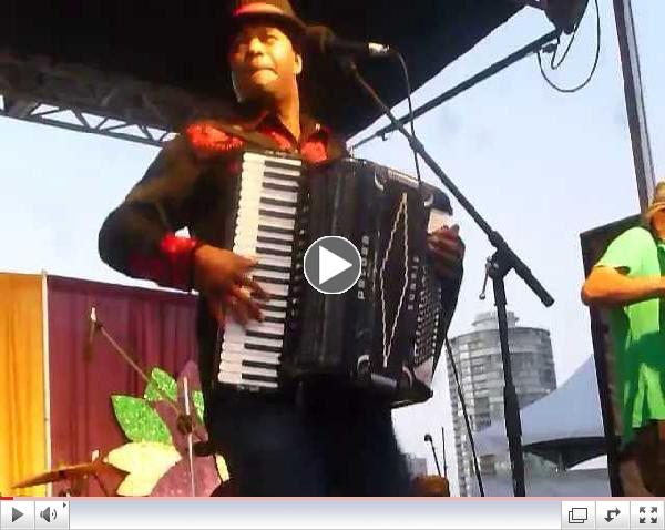 Sunpie & the Louisiana Sunspots at Long Beach Bayou & Blues Festival-