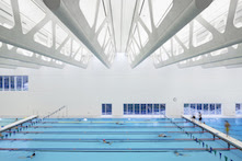 Guildford Aquatic Centre; photo by We See Design Inc. Raef Grohne Architectural Photographer, courtesy of ROCKFON