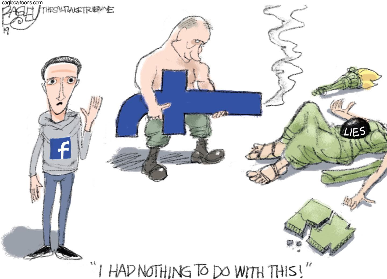 Facebook allowed Cambridge Analytica to erode democracy and fair elections.