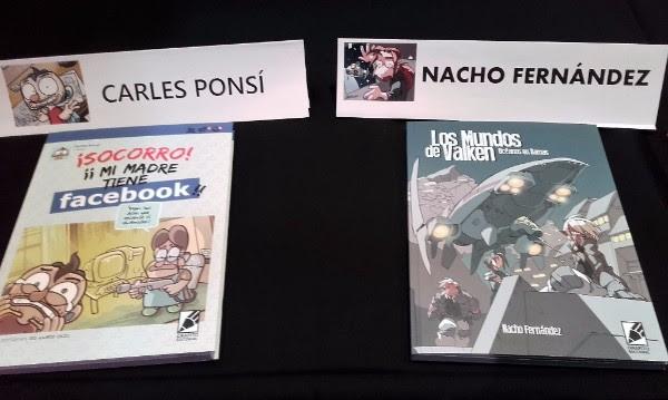Carles Ponsí y Nacho Fernández
