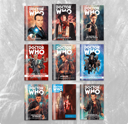 Humble Comics Bundle: Doctor Who 2018 by Titan Comics