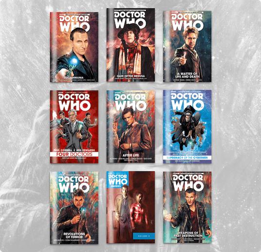 Humble Comics Bundle: Doctor Who 2018 by Titan Comics