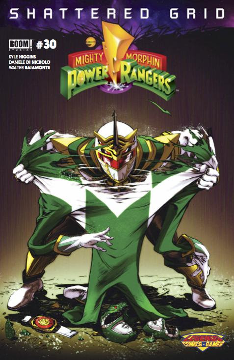 Mighty Morphin Power Rangers by Buzz