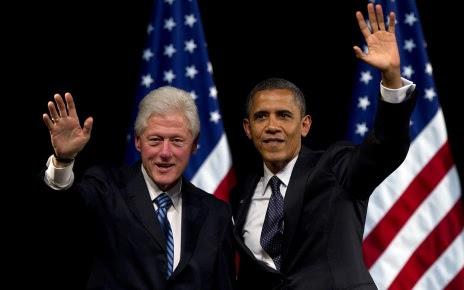 hd-presidenten-achtergrond-met-president-barack-obama-en-bill-clinton-wallpaper-foto