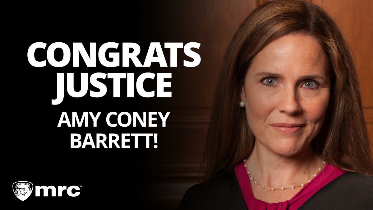 Congrats Justice Amy Coney Barrett!