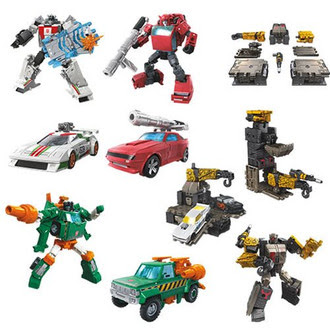 Transformers War for Cybertron - Earthrise - Deluxe Wave 1 - Set of 4