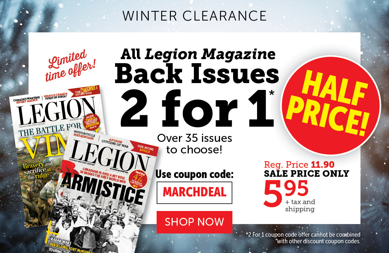 2 for 1 – Legion Magazine Back Issues