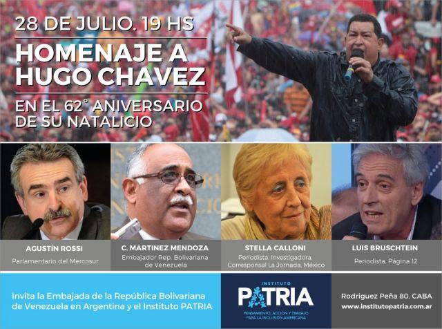 Homenaje a Hugo Chavez