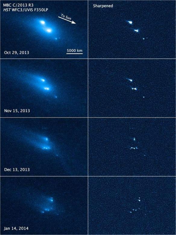 Astroid or Comet break up