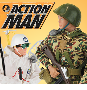 "50TH ANNIVERSARY 12"" ACTION MAN FIGURES"