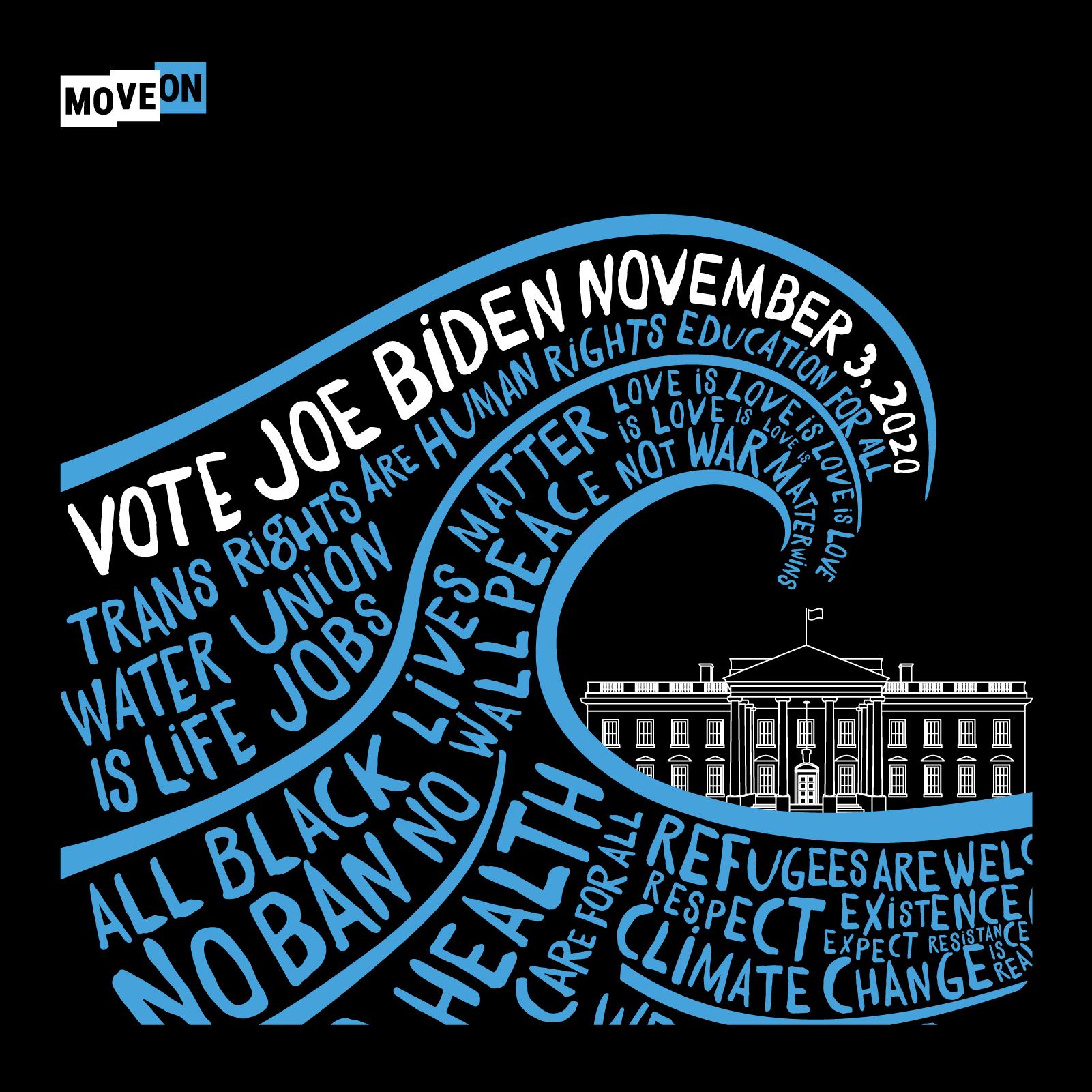 MoveOn choses Joe, who will be Biden's choice for VP?
