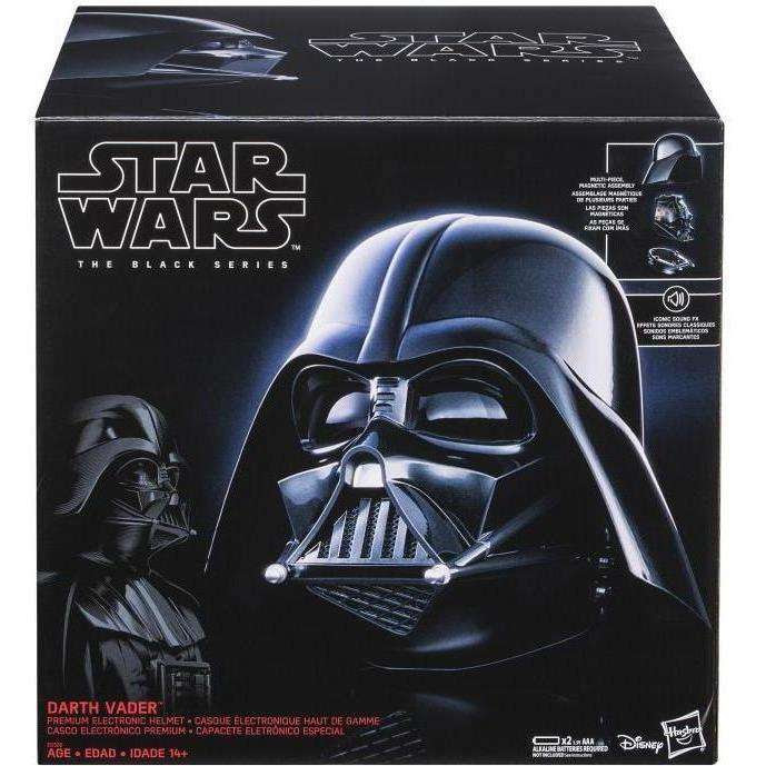 Image of Star Wars: The Black Series - Darth Vader Electronic Wearable Helmet