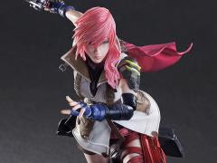 DISSIDIA FINAL FANTASY PLAY ARTS KAI LIGHTNING