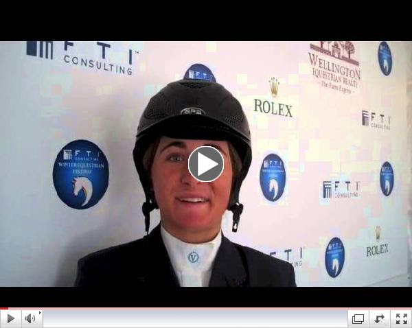 Watch an interview with Victoria Colvin after her win!