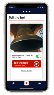 Bells of Peace App 2019 - toll