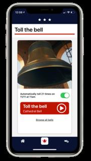 Bells of Peace App 2019 - toll