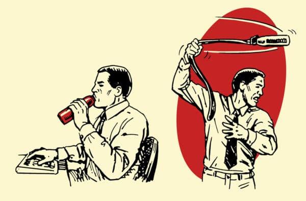 water bottle improvised weapon self-defense illustration