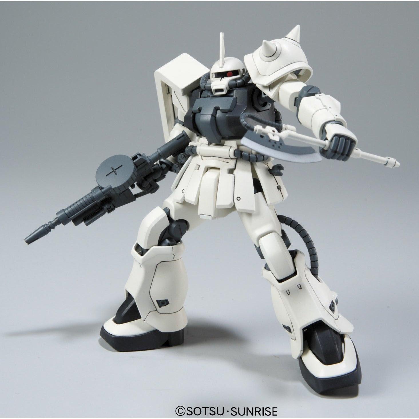 Image of Gundam MS-06F-2 Zaku II F2 EFSF HGUC 1/144 Scale