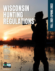 The front page of the 2021 combined Wisconsin hunting regulations pamphlet.