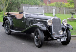 1934 Singer 1.5 Litre Four Seater Sports Tourer