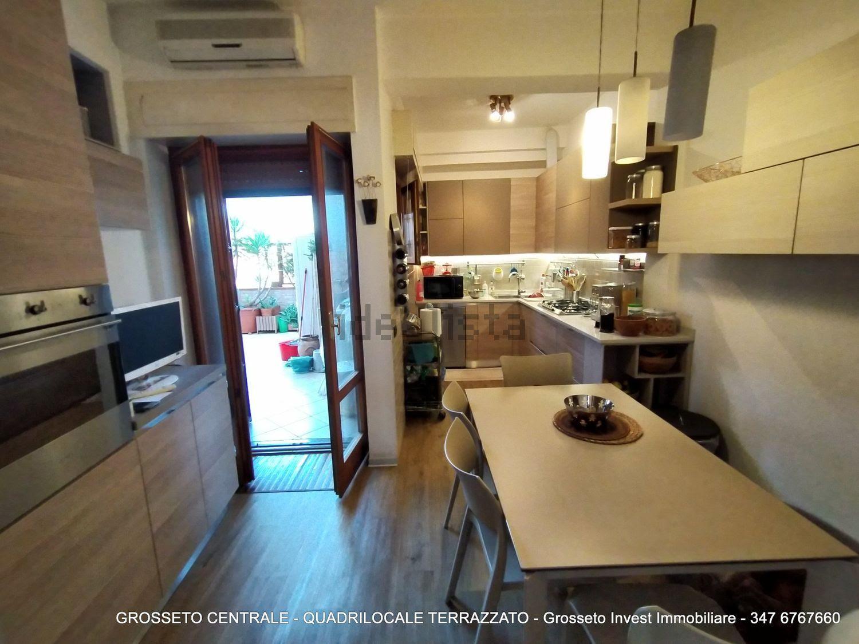 Grosseto Invest di Luigi Ciampi vendita appartamento Cucina di Quadrilocale vendita via Depretis, 30, Centro, Grosseto