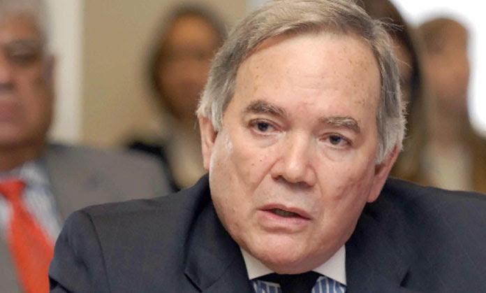 el embajador de Venezuela ante la Organización de Estados Americanos (OEA), Roy Chaderton Matos