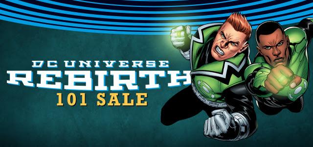 DCU Rebirth 101 Sale