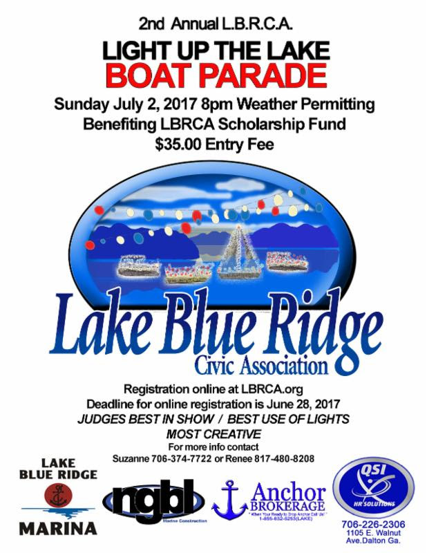 Light up the Lake Boat Parade July 2_ 2017