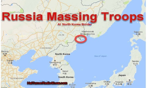 "Russia Massing Troops Along N.Korea Border; ""Response to US Troop Build-Up in S.Korea (How to Survive Biological Warfare and a Weaponized Virus) +Videos"