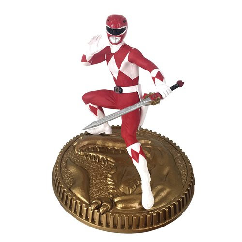 Image of Mighty Morphin Power Rangers Red Ranger 1:8 Scale Statue - MARCH 2021