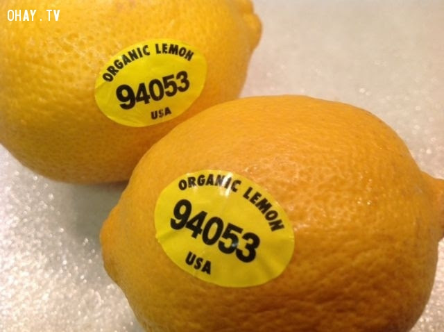 """Mã PLU có 5 chữ số và bắt đầu bằng số """"9"""" ,mã số,trái cây nhập ngoại,tem nhập khẩu,ý nghĩa,an toàn thực phẩm"""