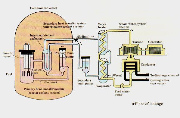Japan Monju Fast Reactor
