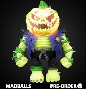 Madballs No Limits Trashin' Pumpkin (Apparition Edition) Figure