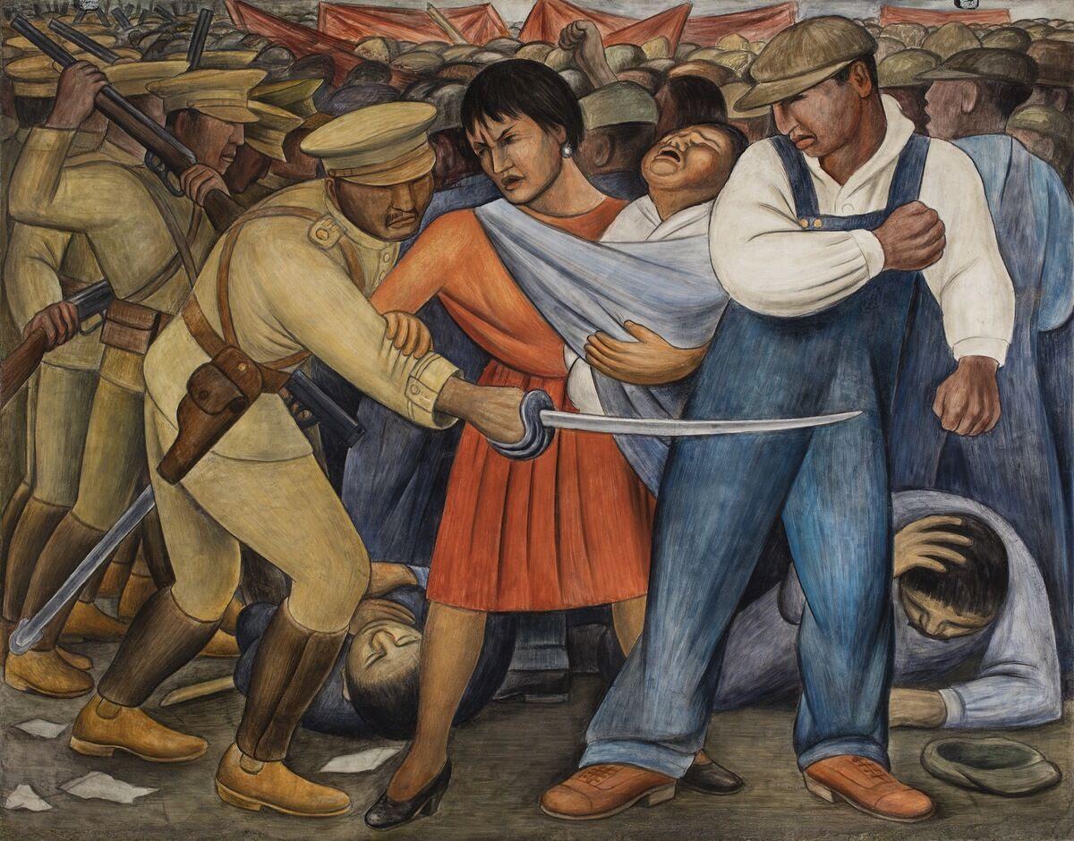Diego Rivera, The Uprising, 1931.