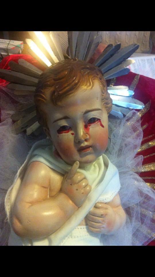 łzy dziecka