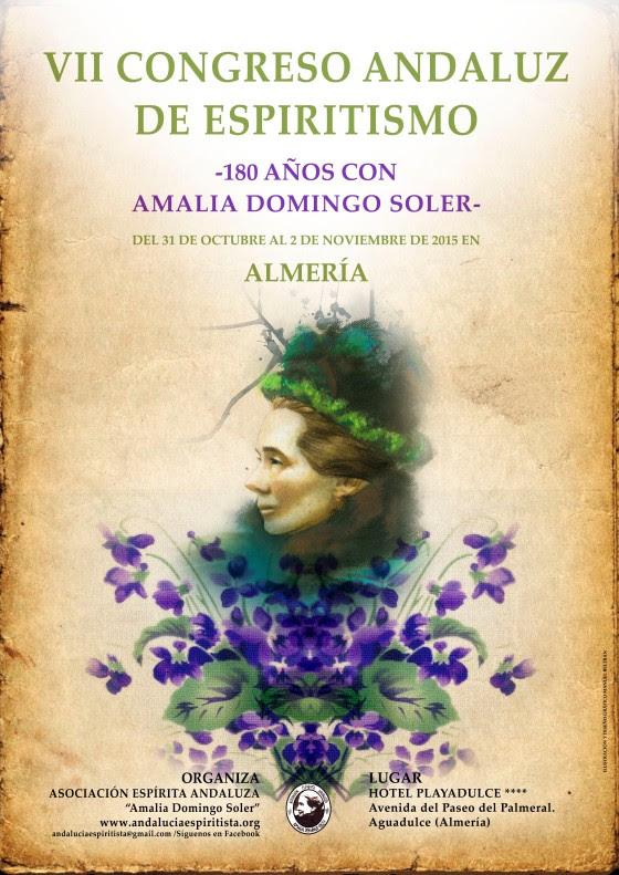 CARTEL VII CONGRESO ANDALUZ DE ESPIRITISMO