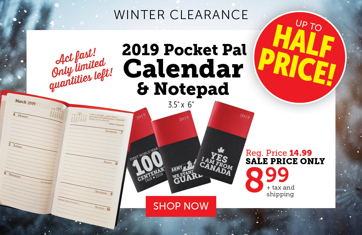 Flash Sale - 40% OFF Calendars and Pocket-Pals