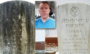 Florida Man Spends His One Day Off Cleaning Veterans Tombstones