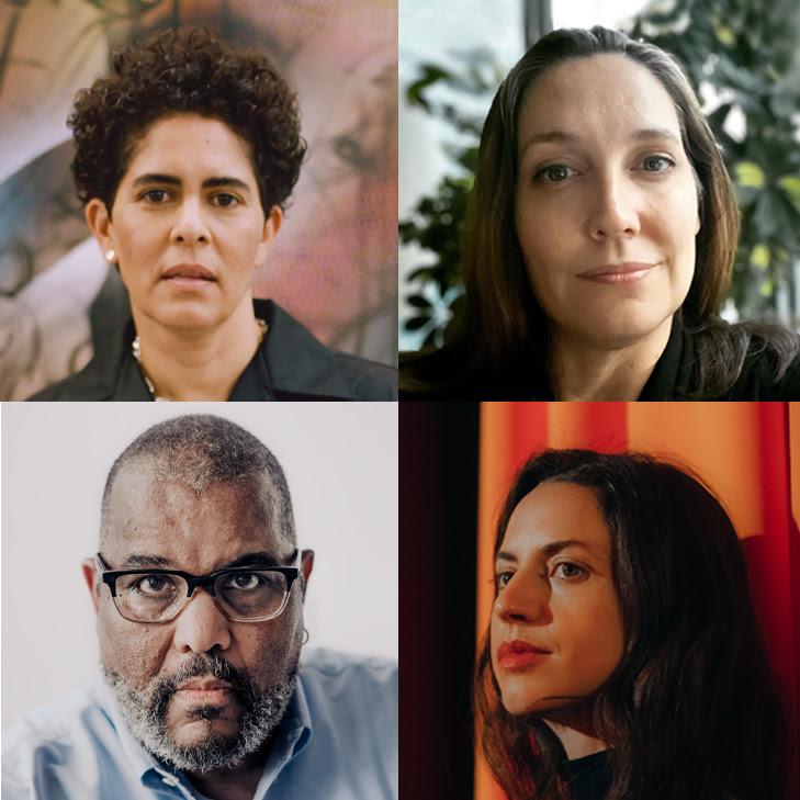 Julie Mehretu, Andrea Carlson, Dawoud Bey, and Madeline Hollander