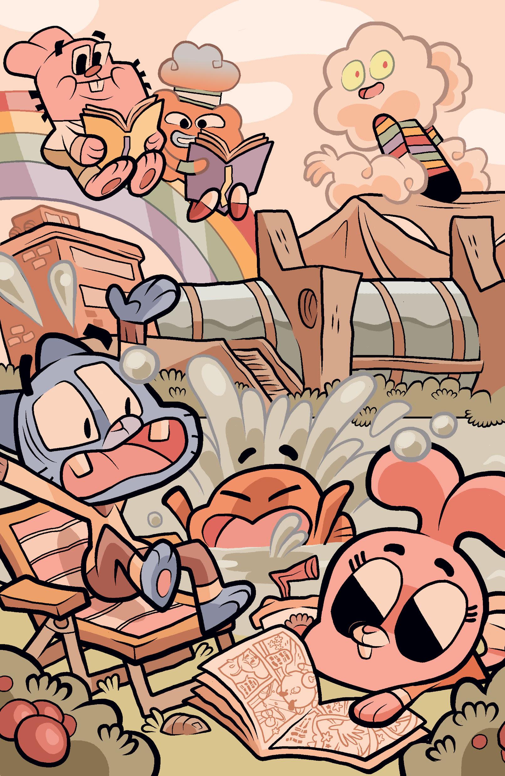 Amazing World of Gumball #1 SDCC